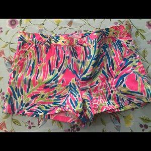 Lilly Pulitzer big girls Callahan shorts 14